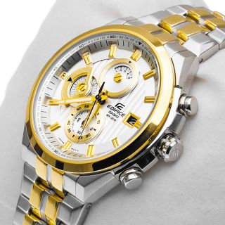 Casio Edifice Chronograph Multi-Colour Dial Men's Watch - EFR- 556 SG-7A