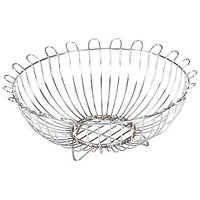 Aakar Kitchen Stainless Steel Fruit & Vegitable Bowl Basket