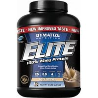 Dymatize Nutrition Elite Whey Protein 5lbs Mocha Cafe 100% Authentic