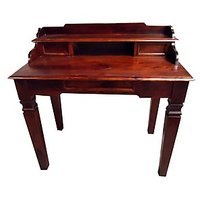 Soild Wood Study Table With Drawers