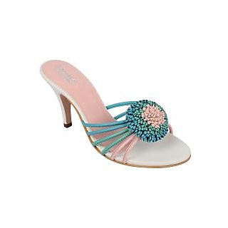 Charu Diva Women Multi Color Designer Heels