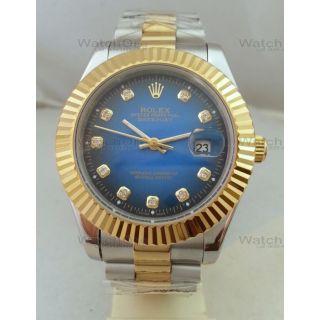 Rolex Date Just Mens Swiss Watch