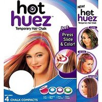 Hair Chalk Hot Huez Hues - As Seen On TV