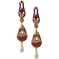 Rich Lady Lovely Royal Blue Earring