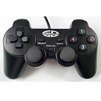 Enter Vibration Gamepad PC Games USB Game Pad Joystick Dual Shock Vibrator