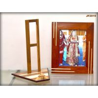 Wooden Photo Frame With Stand - JF2019 - 12x8