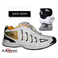 Combo Of Lancer Sports Sports Shoe And 3 Pairs Adidas Socks