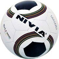 Football Nivia Black & White - 73141650