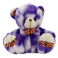 Glitters Valentines Double Shaded Blue Teddy(20 Inch)
