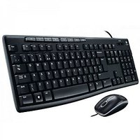 Logitech MK200 USB 2.0 Keyboard And Mouse