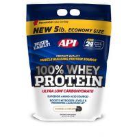 API 100% Whey Protein Cookies & Cream Flavour-5 Lbs