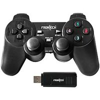 Frontech JIL-3004 WIRELESS Game Pad Dual Shock USB With Vibration