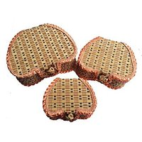 TG's Jute Heart Box -set Of 3