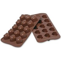 Cooltrends Silicon Chocolate - Heart 15 - Cup Mould (Pack Of 1)