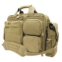 New Heavy Duty Waterproof Briefcase Laptop Bag...tan Color