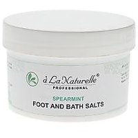 Unisex - Bath Salts - Relaxtion Salts - Spearmint Flavour - A LA Naturelle