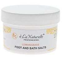 Unisex - Bath Salts - Relaxtion Salts - Lemongrass Flavour - A LA Naturelle