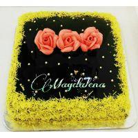 Chocolate Sprinkles Cake Half Kg - 73281204