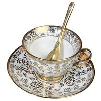 18 Pc Cup And Saucer Set