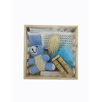 Anni Essential Bath And Beauty Kit (Set Of 6 With Wooden Stand)