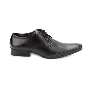 Men's Faux Leather Formal Shoes Black 1