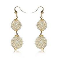 Pearl Dangler Earring By Utsokt 1ON1E357
