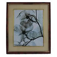 Beautiful Wooden Photo Frame Of Flower Black And White