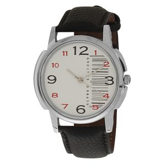 Relish Analog Leather Round Automatic Casual Wear Watches For Men - 73326238