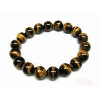 Crystal Tiger Eye Bracelet