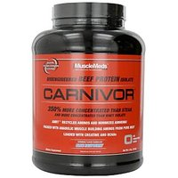 Musclemeds Carnivor Beef Protein Isolate,blue Raspberry,100% Genuine