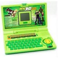 20 Activities Ben 10 English Learner Kids Educational Laptop Toy