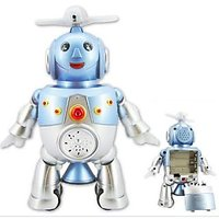 Dancing Robot Kids Toy With Music & Flashing Light