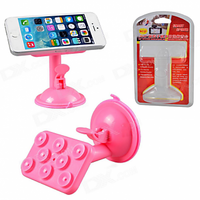 Smart Spider 360 Degree Rotation Suction Cup Holder Stand For Cell Phone