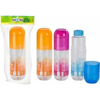 Nayasa Chill Pill water Bottle set of 3