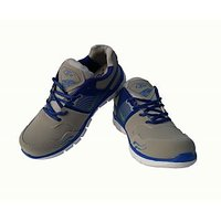 Lzr Sports Shoes For Men(Grey::Royal Blue)