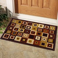 Status Multi-Coloured Taba Door Mat Buy 1 Get 1 Free (TABA DOOR MAT -2PC-CR847)