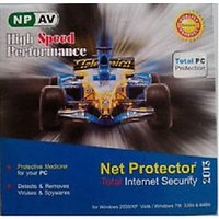 Net Protector Antivirus + Internet Security 2014 1 User 1 Year