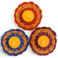 Set Of 3 Tea Light Holder, Candle Holder, Candle Stand, Tea Light Stand - 73464530