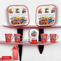 Nayasa Kids Meal Set 12 Pcs -Racing Cars