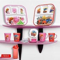 Nayasa Kids Meal Set 12 Pcs -Combo