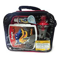 Jungle Magic Lunch Packz - Lunch Box With Sanitizer And Water Bottle