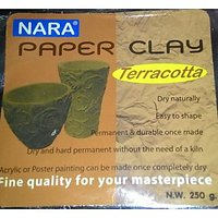 Terracotta Clay 250 Gm , No Need To Bake
