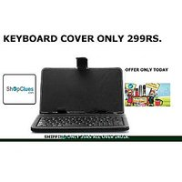 ClickAway 7'' Inch Tablet Cover Case With USB Keyboard For Android Tablet/iPad/MID/all Tab