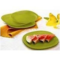 Tupperware Snack Plate(set Of 4)