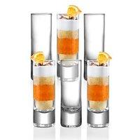 6-Piece Drink Islande Shot Glass, 2.25-Ounce (60 ML)