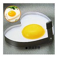 Creative Stainless Steel Heart-shaped Egg Ring Omelette Steel Egg Mould Mold