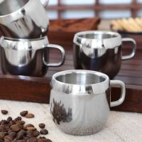 Homescapes Stainless Steel Double Wall Cup Set Of 6.....mrp 930 ....discounted Price 790