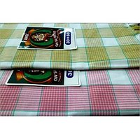 BATH TOWEL--COTTON TOWEL--A Set Of Two South Indian Towels-- Size 30 X 60 - 73586758