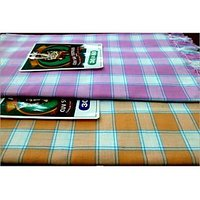 BATH TOWEL--COTTON TOWEL--A Set Of Two South Indian Towels-- Size 30 X 60 - 73588206