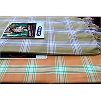 BATH TOWEL--COTTON TOWEL--A Set Of Two South Indian Towels-- Size 30 X 60 - 73588846